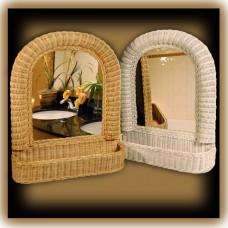 Chasco Arch Mirror with Shelf