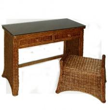 Chasco Florentine 2 Drawer Desk with Bench