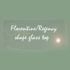 Chasco Florentine Glass Top for 4393/4 4 Drawer Dresser