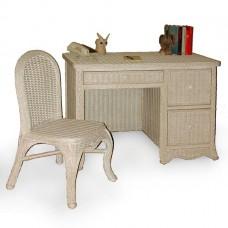 Chasco Florentine 3 Drawer Desk with Chair