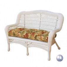 Chasco Cape Charles Resin/Alum Settee Sofa