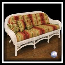Chasco DS Empire Resin/Alum 3-seat Sofa