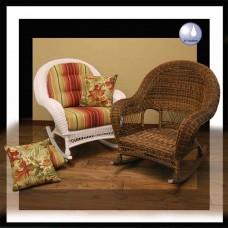 Chasco DS Empire Resin/Alum Rocker Arm Chair