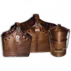 Cauldron Basket Set - Copper Plated
